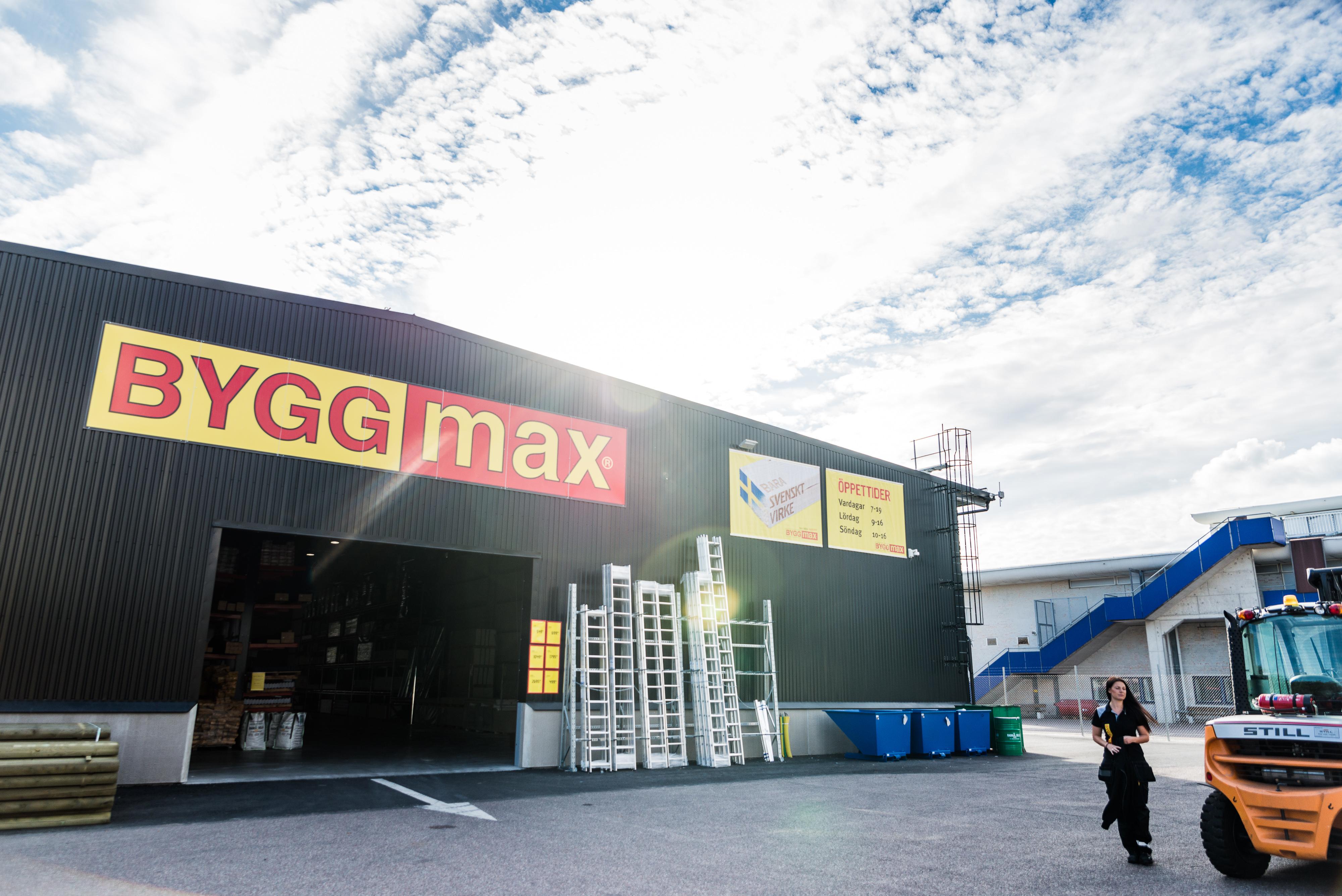 Byggmax föreslår utdelning