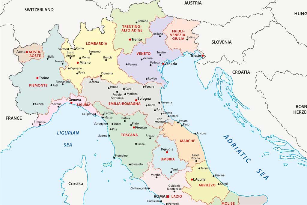 UD avråder nu från resor till norra Italien